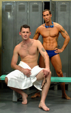 Barrett Long  & Alexy Tyler   in Hot Jocks Nice Cocks - Centerfold