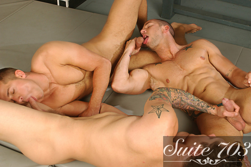Rod Daily & Brandon Lewis in Hot Jocks Nice Cocks - Gay Sex Position #2