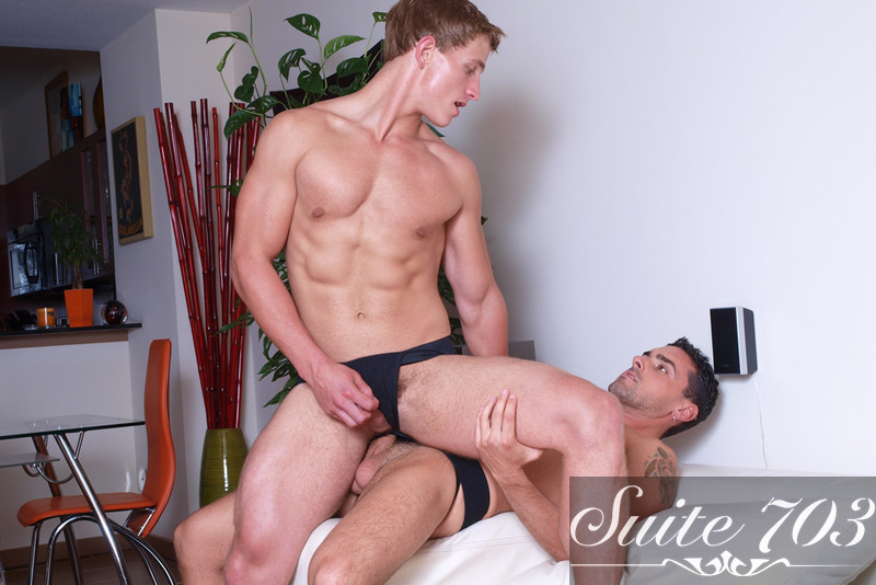 Jeremy Bilding & Landon Mycles in Hot Jocks Nice Cocks - Gay Sex Position #2