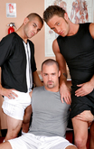 Riley Burke & Sebastian Rivers in Hot Jocks Nice Cocks - Centerfold