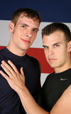Tyler Aston & Landon Cruise in Hot Jocks Nice Cocks - Centerfold