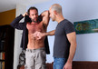 Adam Russo & Dodger Wolf in I'm a Married Man- Gay Sex Position #1