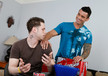 Alexsander Freitas & Kevin Cavallie in I'm a Married Man- Gay Sex Position #1