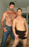 Ari Sylvio & Berke Banks in I'm a Married Man - Centerfold