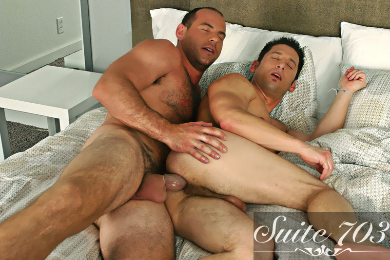 Ari Sylvio & Girth Brooks in I'm a Married Man - Gay Sex Position #2