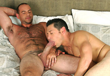 Ari Silvio, Girth Brooks gay networks video from Suite 703