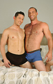 Ari Sylvio & Girth Brooks in I'm a Married Man - Centerfold