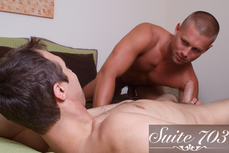 Bobby Clark & Devon Hunter in I'm a Married Man - Gay Sex Position #2