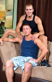 Brandon Lewis & Brad Star in I'm a Married Man - Centerfold