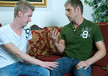 Micah Matthews & Bradley Michaels in I'm a Married Man- Gay Sex Position #1
