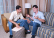 Tony Douglas & Casey Monroe in I'm a Married Man- Gay Sex Position #1