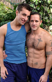 Clayton Archer & Wolfie in I'm a Married Man - Centerfold
