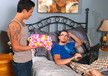 Phenix Saint & Seth Knight in I'm a Married Man- Gay Sex Position #1