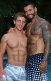 Alexsander Freitas & Landon Mycles in My Brother's Hot Friend - Centerfold