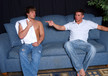 Hunter Ford & Andrew Blue in My Brother's Hot Friend- Gay Sex Position #1