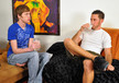 Mark Hammer & Corey Jakobs in My Brother's Hot Friend- Gay Sex Position #1