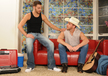 Tommy Defendi & Drew Cutler in My Brother's Hot Friend- Gay Sex Position #1