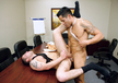 Ago Viara & Tommy Blade in Men Hard at Work - Gay Sex Position #4