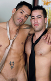 Ago Viara & Tommy Blade in Men Hard at Work - Centerfold