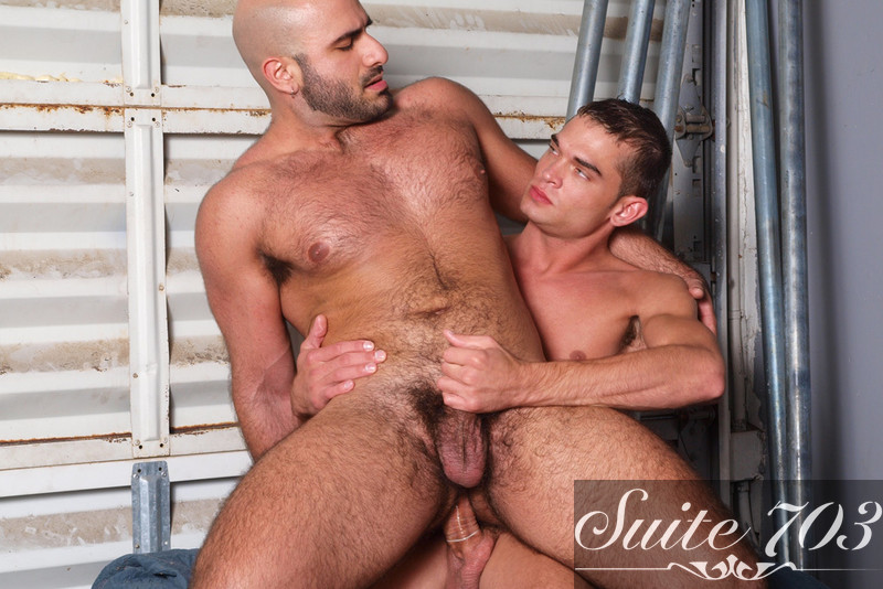 Alex Slater & Luke Milan in Men Hard at Work - Gay Sex Position #2