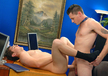 TJ Young  & Barrett Long  in Men Hard at Work - Gay Sex Position #4