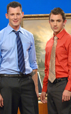 TJ Young  & Barrett Long  in Men Hard at Work - Centerfold