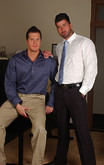 Parker London & Berke Banks in Men Hard at Work - Centerfold