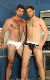 Tommy Defendi & Berke Banks in Men Hard at Work - Centerfold