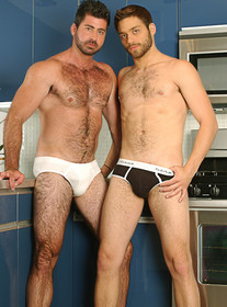 hot gay porn stars Berke Banks and Tommy Defendi
