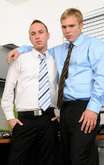 Rex Roddick & Bobby Rail in Men Hard at Work - Centerfold