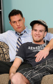 Brad Benton   & Tyler Johnson in Men Hard at Work - Centerfold