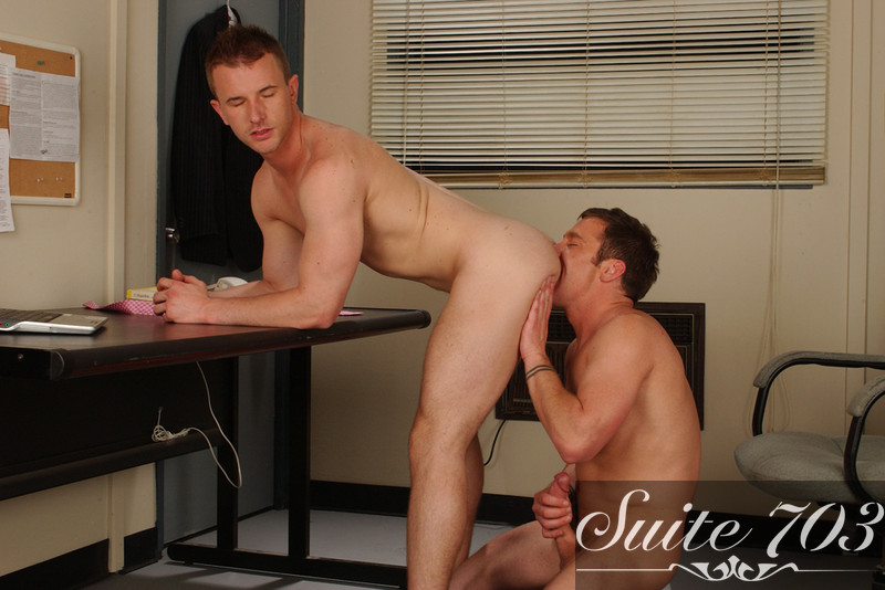 cameron adams bound in steamworks by group of guys