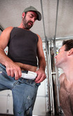 Dodger Wolf & Chris Baldwin in Men Hard at Work - Centerfold