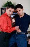 Chris Stevens & Kyle Foxxx in Men Hard at Work - Centerfold