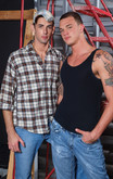 Jake Steel & Cliff Jensen in Men Hard at Work - Centerfold