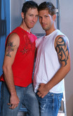 Danny Brooks & Jake Austin in Men Hard at Work - Centerfold