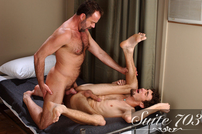 Dodger Wolf & Keith Hunter in Men Hard at Work - Gay Sex Position #2