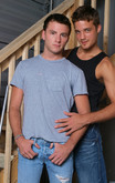 Evan Hart & Krys Perez in Men Hard at Work - Centerfold