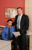 Trevor Knight & Gianni Luca in Men Hard at Work - Centerfold