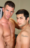 Rusty Stevens & Jay Lopez in Men Hard at Work - Centerfold