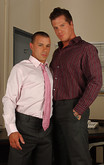 Nikko Alexander & Parker London in Men Hard at Work - Centerfold