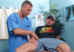 Phenix Saint & Roman Rivers in Men Hard at Work- Gay Sex Position #1