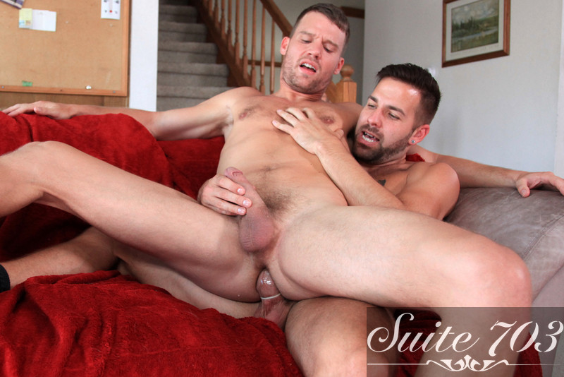 Steven Daigle & Preston Steel in Men Hard at Work - Gay Sex Position #2