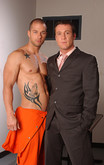 Rod Daily & Trevor Knight in Men Hard at Work - Centerfold