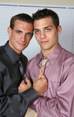 Tommy Defendi & Ryan Raz in Men Hard at Work - Centerfold