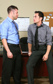 Tristan Phoenix & Tristan Jaxx in Men Hard at Work - Centerfold